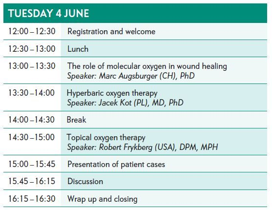 EWMA Masterclass Oxygen Therapies