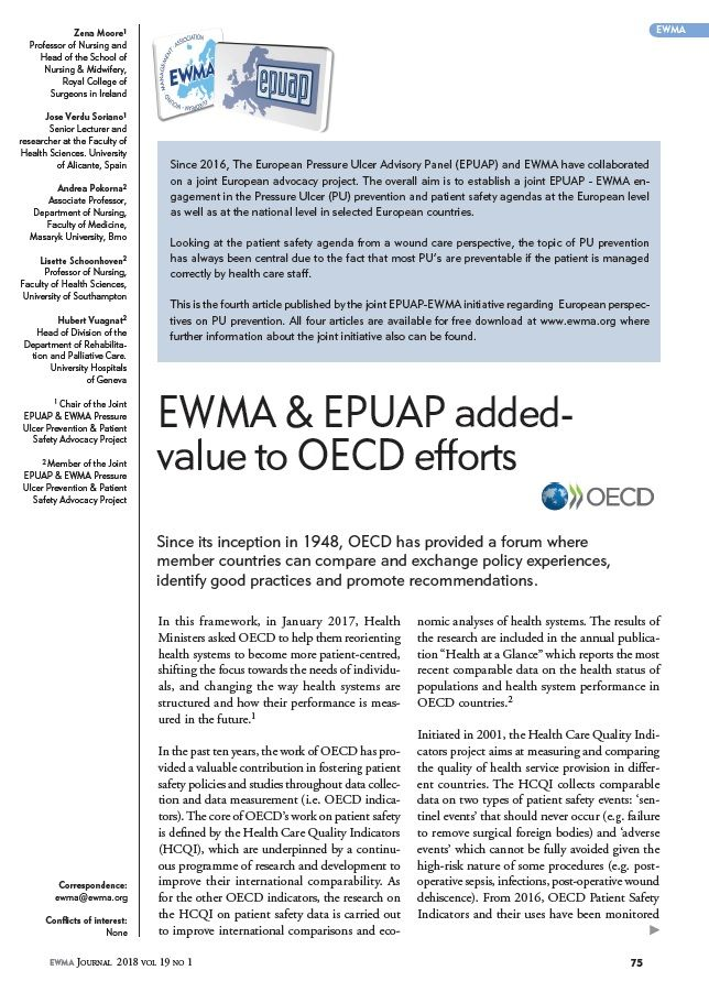 EWMA and EPUAP added values to OECD